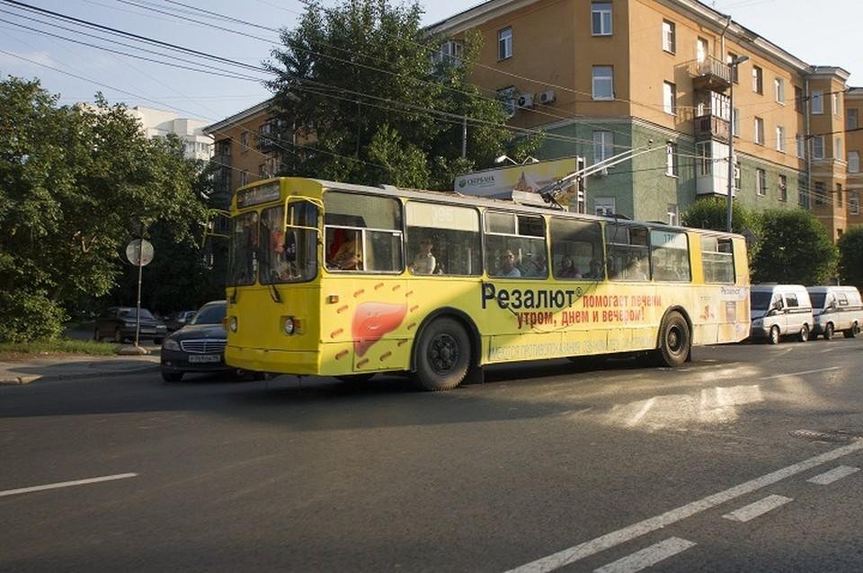 Планируется, что в ближайшие часы троллейбусы наверстают свой график
