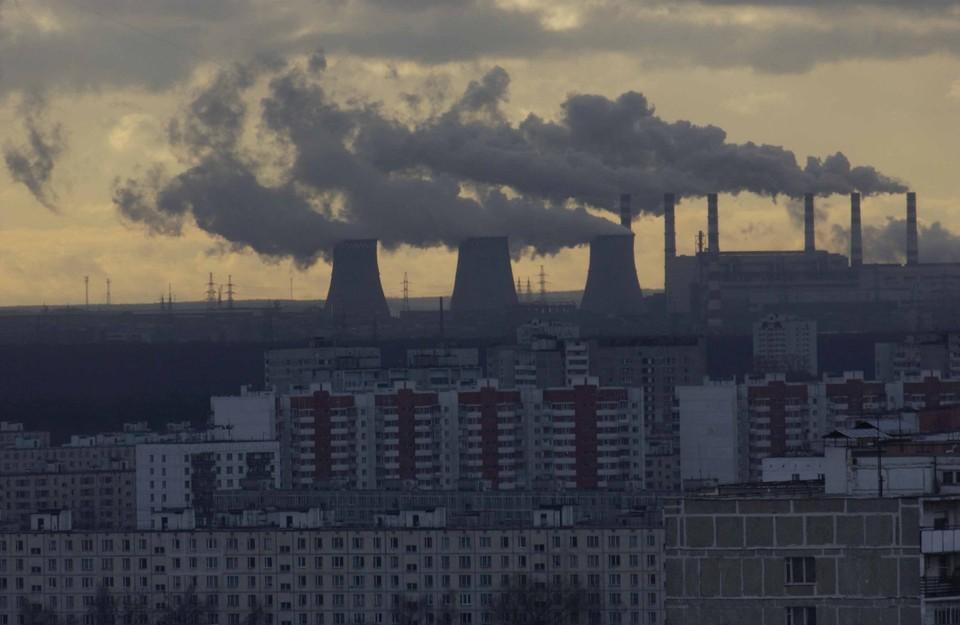 В нескольких городах Кузбасса объявили режим «черного неба».