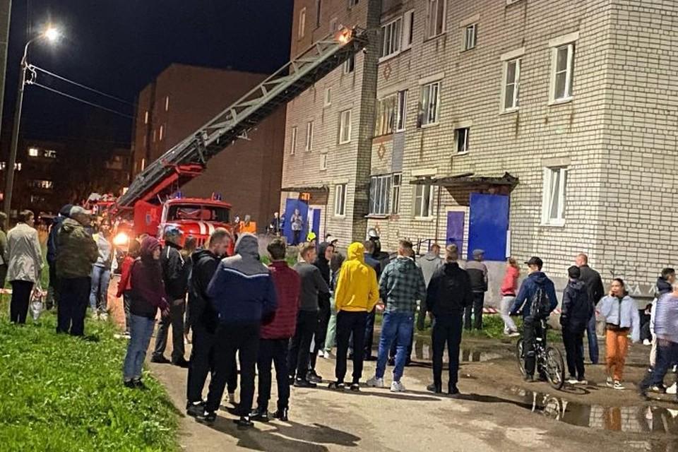 Из-за пожара в Контантиновском Тутаевского района могут возбудить уголовное дело. ФОТО: читатель КП