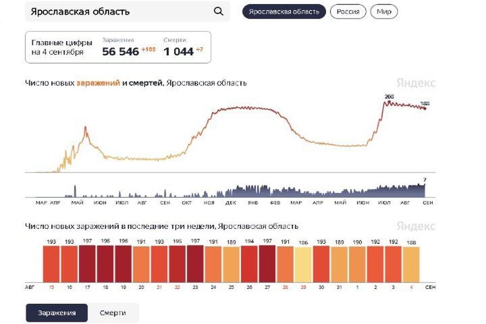 Скриншот Яндкс.Статистика