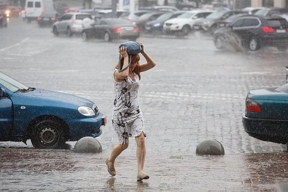 Отметим, что сильные осадки в начале сентября характеризуются как циклонический тип погоды.
