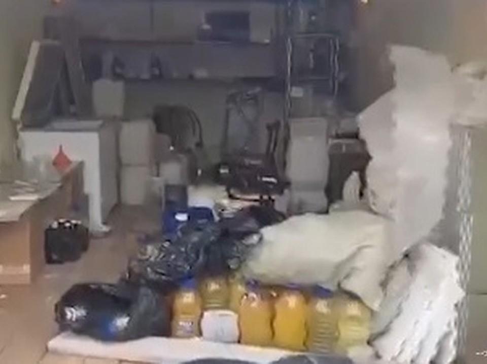 В подпольной лаборатории полицейские нашли более 20 кг наркотиков