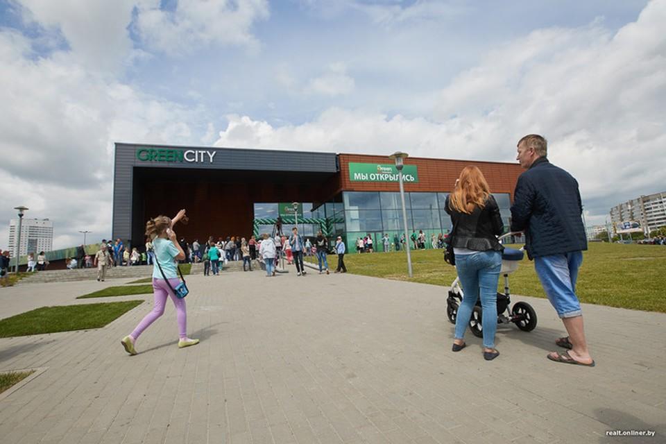 В Минске в ТЦ Green City сработала пожарная сигнализация. Фото: realt.onliner.by
