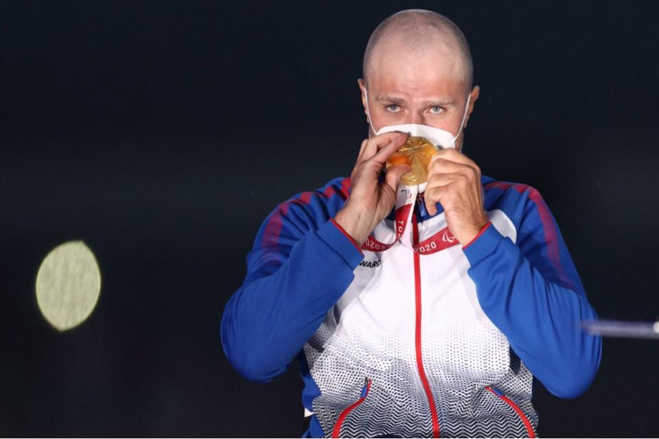 Спортсмен представлял на Паралимпийских играх Москву. Фото: Reuters