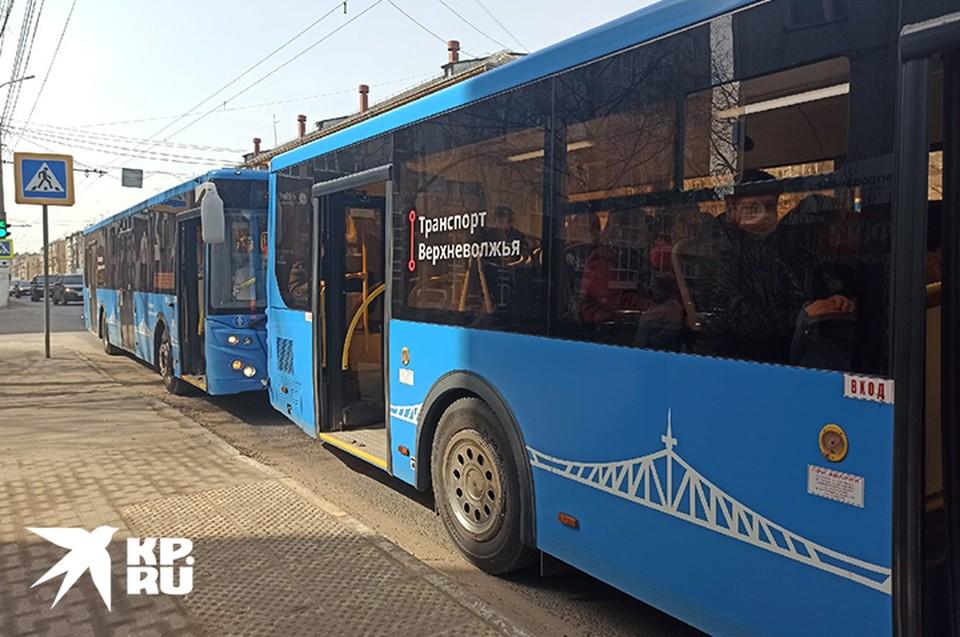 В Твери девять автобусов временно изменят маршруты