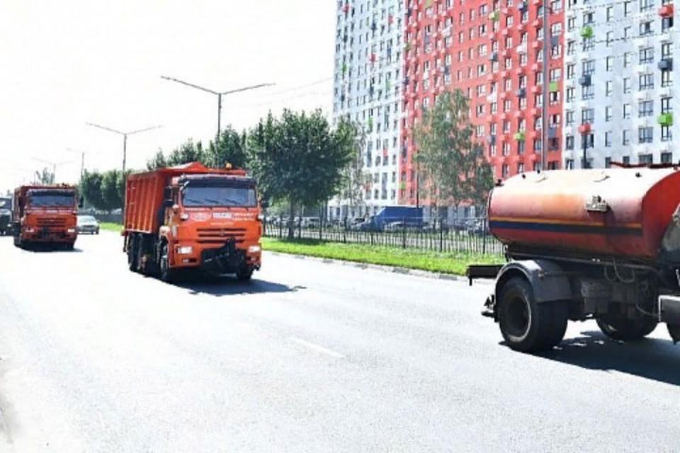 В Ярославле в августе прошли первые учения по уборке города от снега зимой