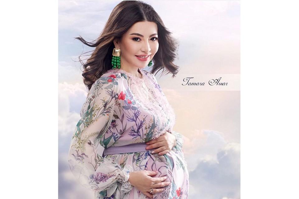 45-летняя певица Тамара Асар второй раз стала мамой.