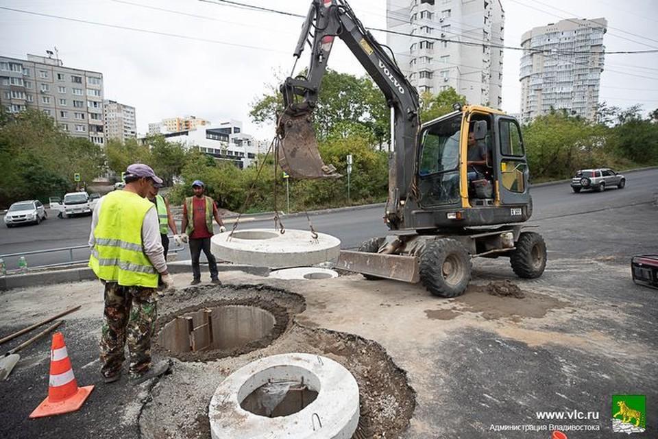 Не все подрядчики уложились в срок. Фото: Анастасия Котлярова/Администрация Владивостока.