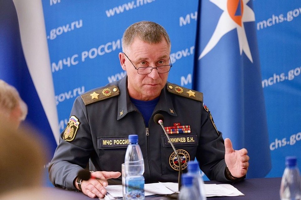 Евгений Зиничев, министр МЧС