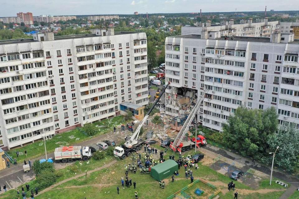 8 сентября в подмосковном Ногинске произошел взрыв газа в 9-этажном доме.