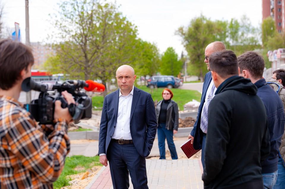 Юрий Парахин пригласил жителей Наугорского микрорайона на встречу