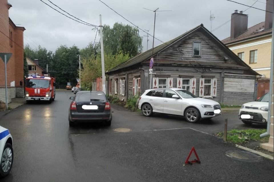 В ДТП пострадал ребенок Фото: УГИБДД России по Тверской области