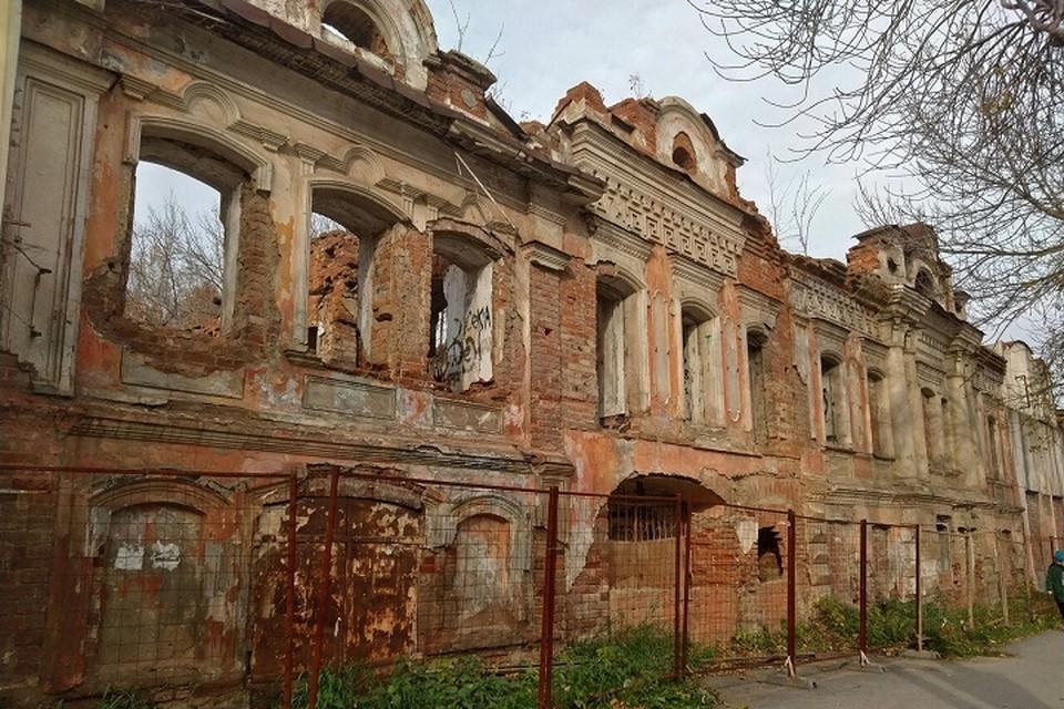 Сейчас здание практически полностью разрушено Фото: Яндекс.Карты