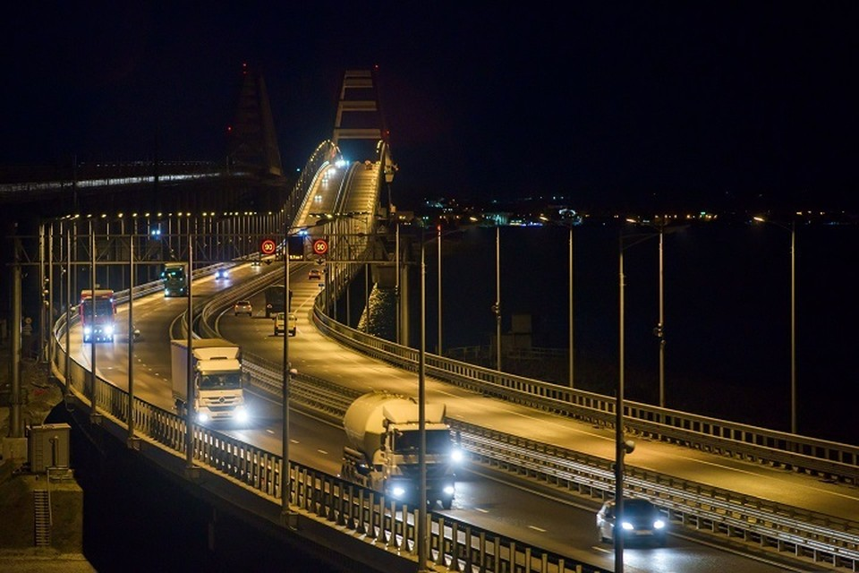 "Крымский мост. Фото: Упрдор ""Тамань"""