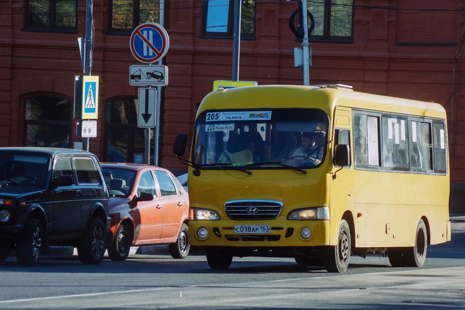 В Самаре увеличили четыре маршрута автобусов