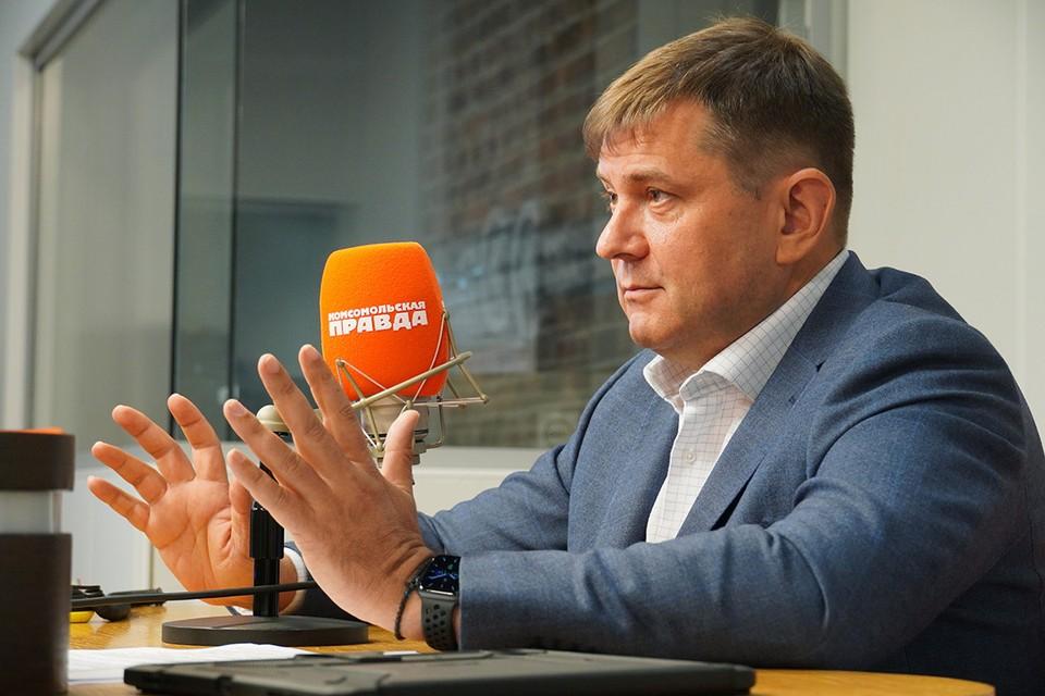Руководитель Департамента культурного наследия Москвы Алексей Емельянов