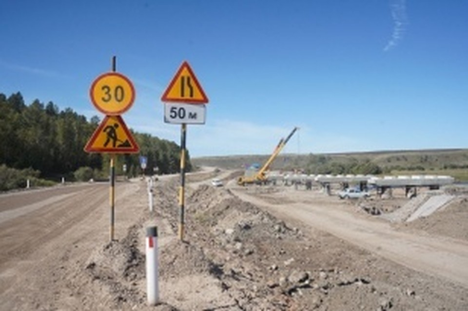 Асфальтобетонное покрытие впервые уложат на дороге Бохан – Тихоновка. Фото: правительство Иркутской области