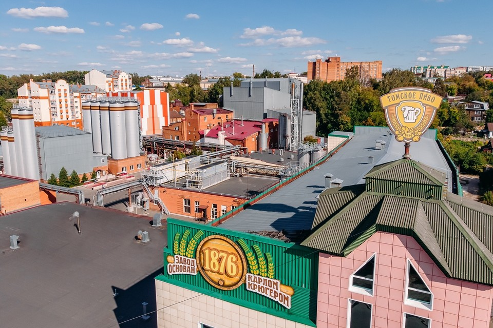 «Томское пиво» – одно из старейших и одновременно самых современных в России предприятий пищевой отрасли. Фото из архива ОАО «Томское пиво»