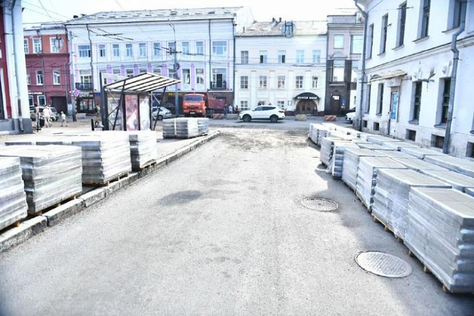 В Ярославле перенесли дату окончания ремонта улицы Комсомольской