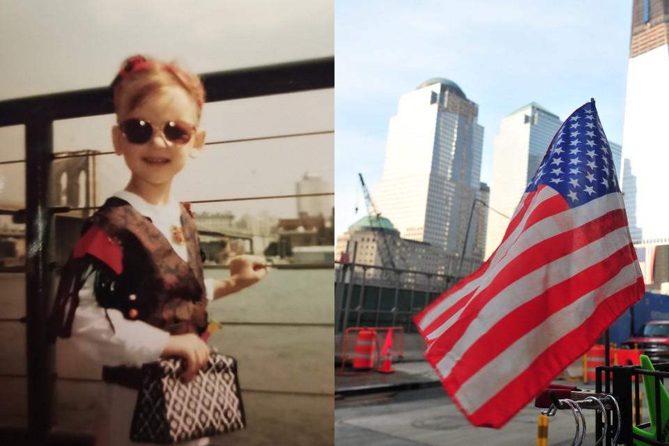 Софья застала падение башен-близнецов 11 сентября в свой День рождения. Фото: Никита Манько // Марина Волосевич