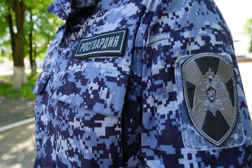 Росгвардейцы задержали подозреваемого с поличным. Фото: 43.rosguard.gov.ru