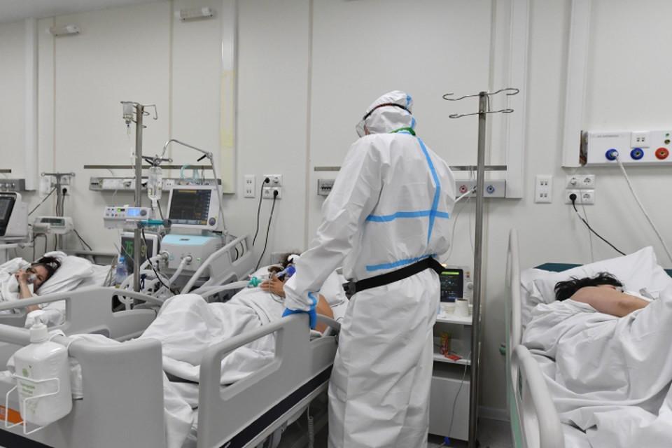 В инфекционных стационарах лечатся 2489 заболевших.