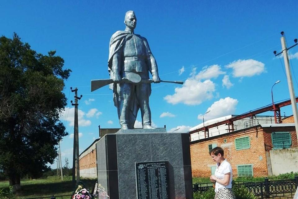 Братской захоронение в Ростовской области