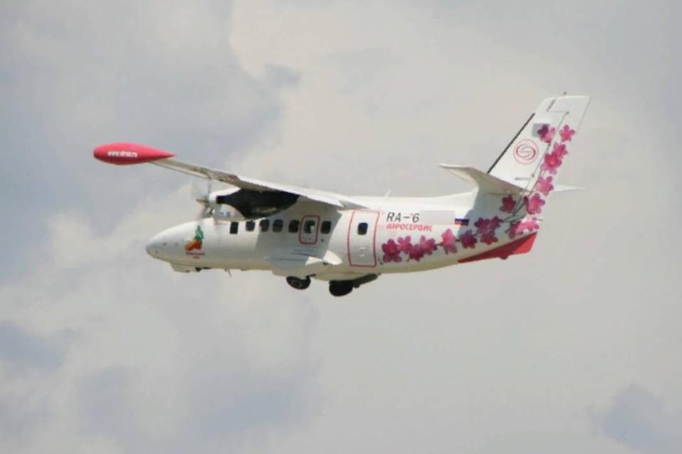 Появились данные о самолете L-410, попавшем в авиакатастрофу в Иркутской области. Фото: сайт авиакомпании.
