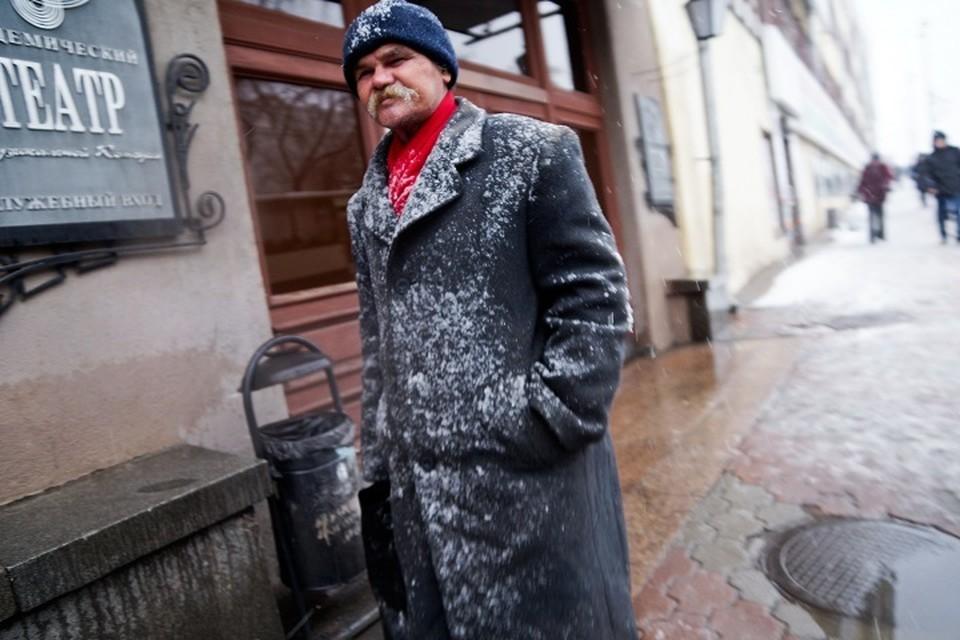 В начале следующей недели мокрый снег будет пролетать и в южной части Свердловской области