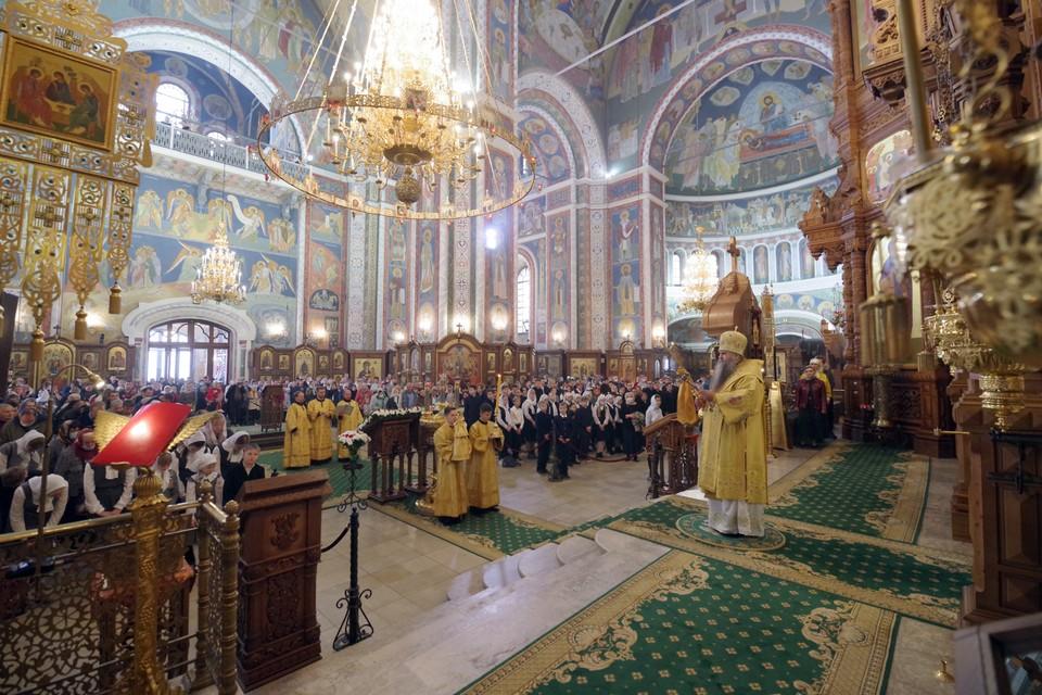 Божественная литургия. Фото: Алексей Козориз