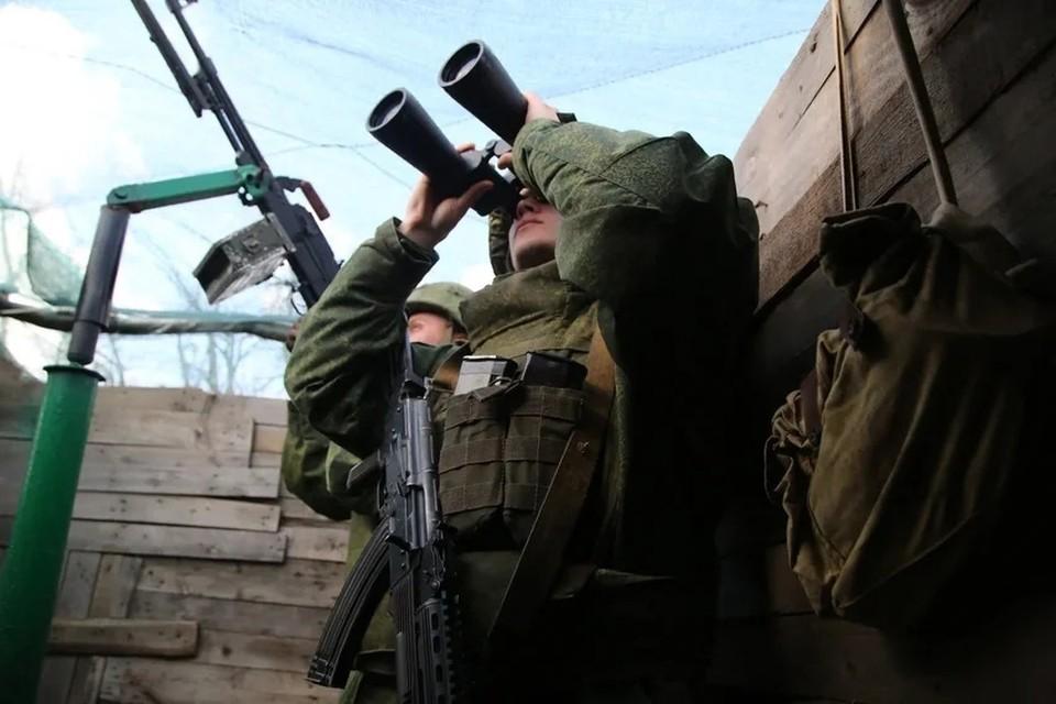 НМ ДНР открыла ответный огонь