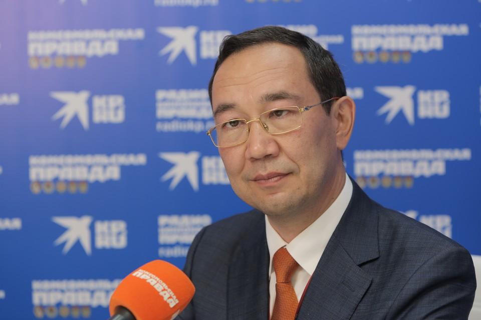 Айсен Николаев, глава Республики Саха (Якутия)