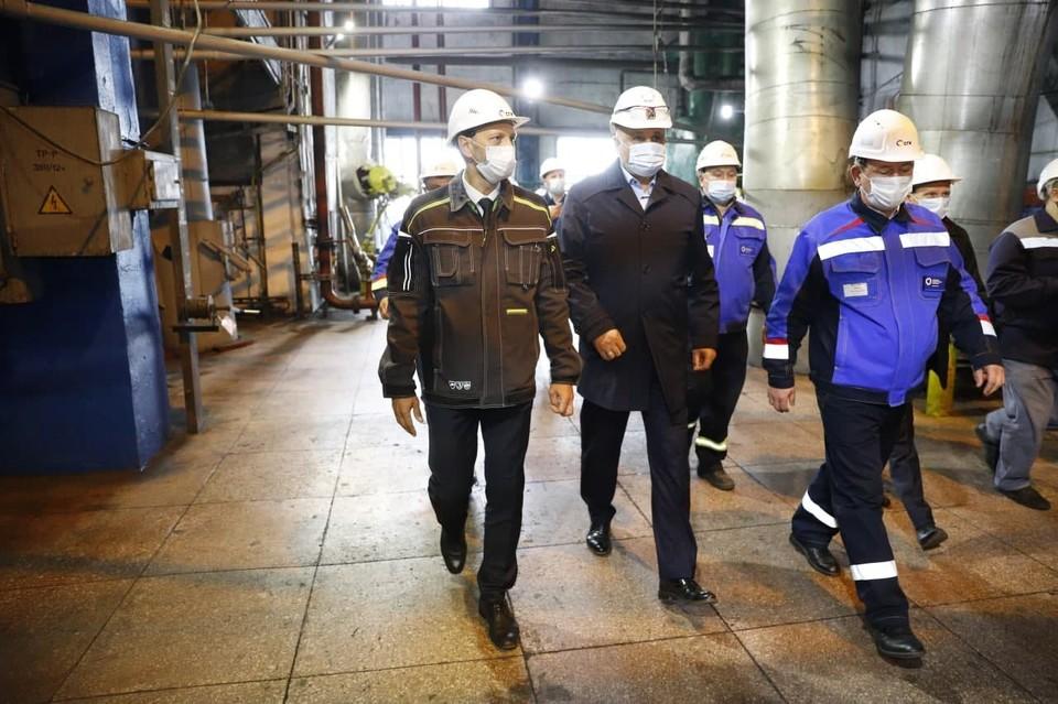 В Кузбассе новая тепломагистраль снизит количество выбросов загрязняющих веществ. Фото: АПК.