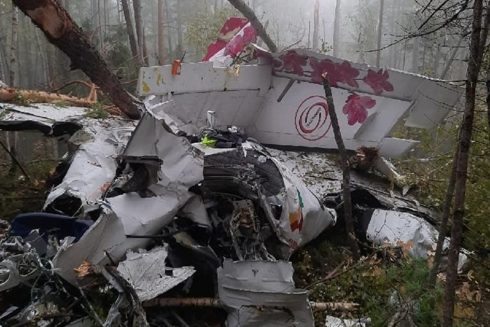 Как удалось выжить пассажирам L-410, рухнувшего в тайгу в Иркутской области, и почему не произошел пожар. Фото: Восточно-Сибирская транспортная прокуратура