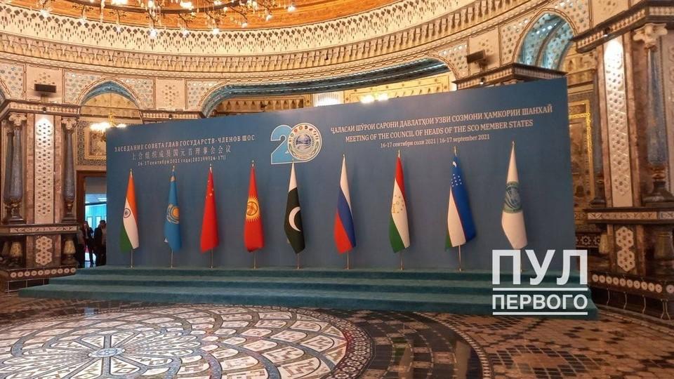"Лукашенко 15 сентября летит в Таджикистан. Фото: ""Пул Первого""."