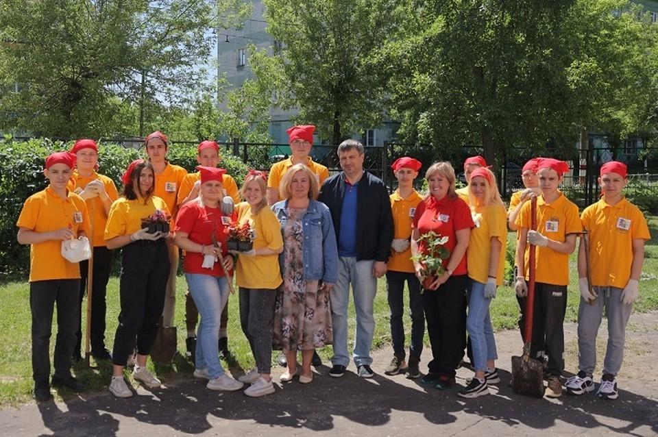В Дзержинске определены лучшие трудовые подростковые бригады