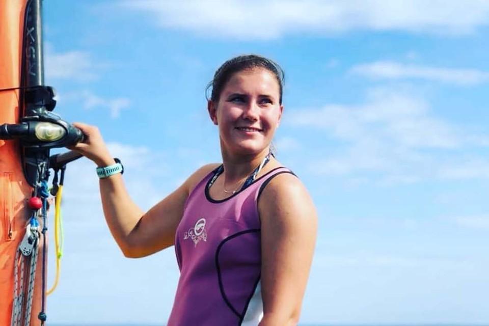 Яхтсменка Анна Хворикова - о доходах в парусном спорте. Фото: www.instagram.com/zefwind.