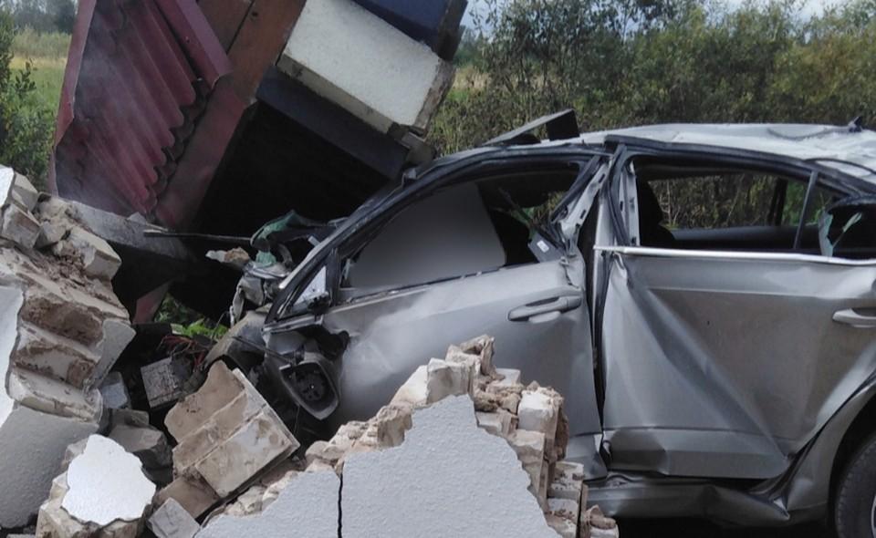34-летний водитель Skoda Octavia погиб в ДТП в Дорогобужском районе. Фото: паблик «Нетипичный чёрный список Сафоново-Дорогобуж» ВКонтакте.
