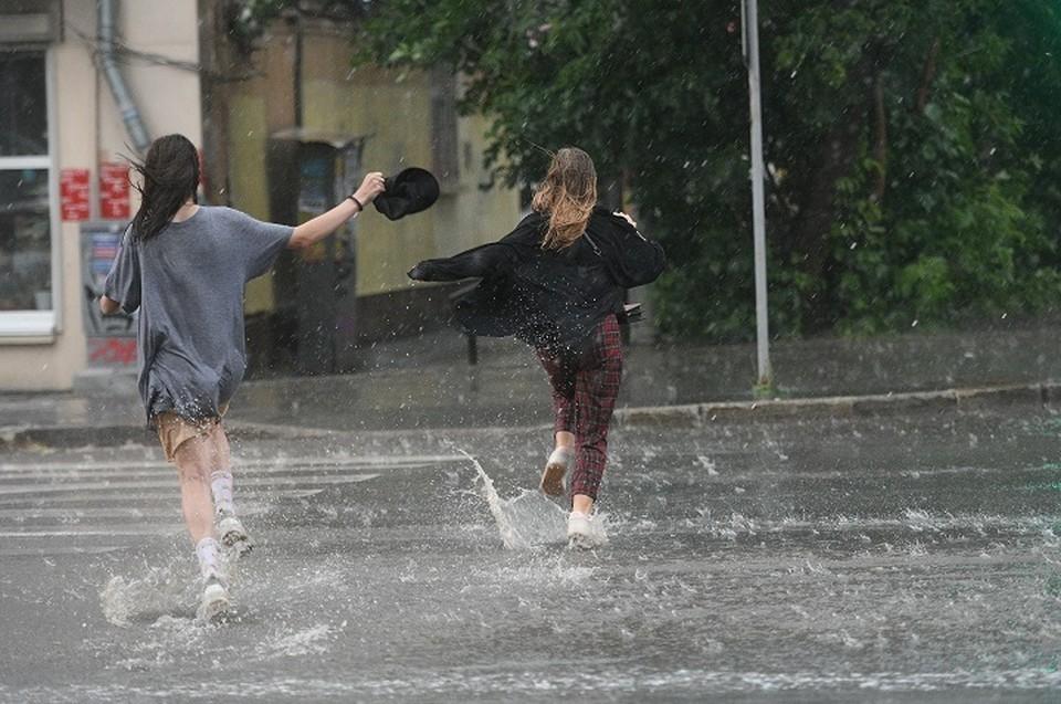 ГИБДД советует в плохую погоду носить световозвращатели