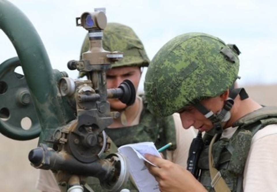 В Крыму началось учение с артиллерийскими подразделениями Черноморского флота. Фото: пресс-служба ЧФ РФ