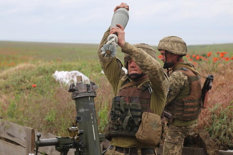 11 февраля Докучаевск обстреляли минами калибром 120 мм. Фото: Пресс-центр штаба «ООС»