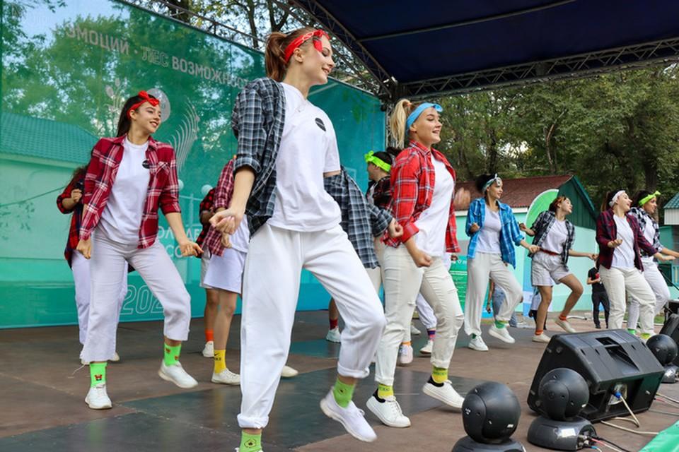 Форум молодёжи Донбасса «МОРЕ-ЛЕС» вступил в завершающую стадию – самую здоровую. Фото: ОД «Мир Луганщине»