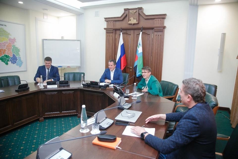 Съемочная группа рассказала о подготовке к созданию исторической картины «Рождение империи». фото: с сайта губернатора и правительства Белгородской области.