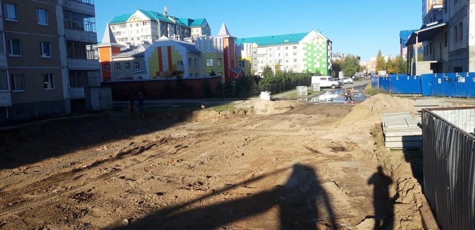В Нягани к концу сентября обещают завершить ремонт дорог во дворах Фото: Администрация Нягани