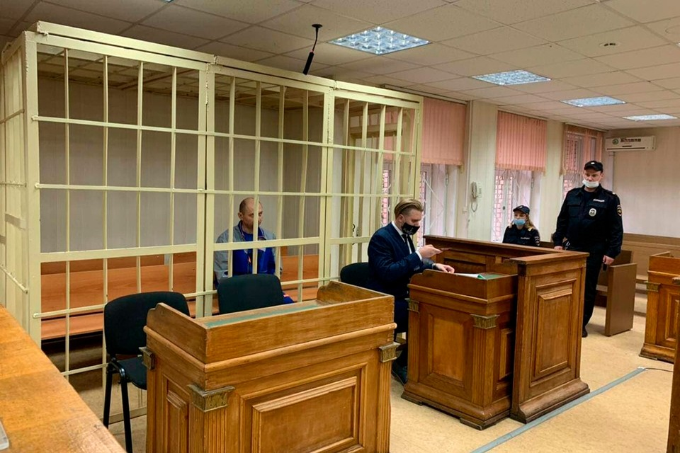 Антону Котову избрали меру пресечения. Фото: пресс-службы суда.