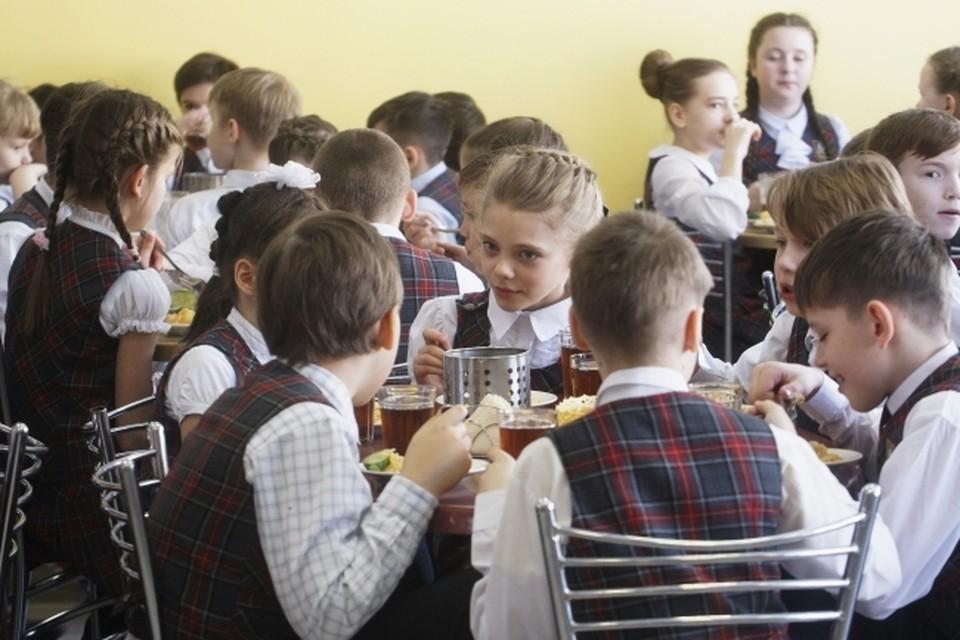 Учащиеся частных школ начнут получать горячее питание в столовой