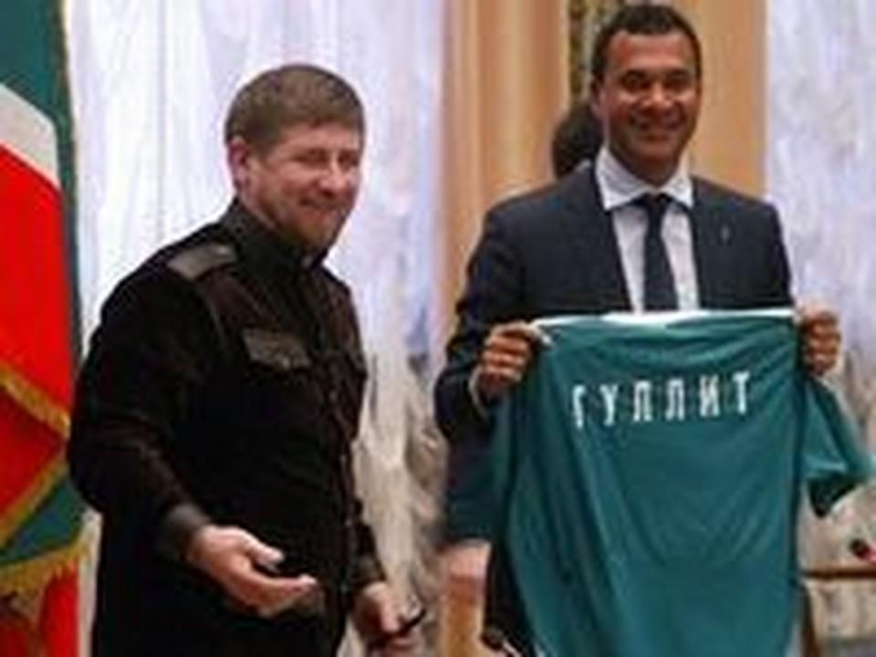Кадыров и Гуллит расстались без претензий