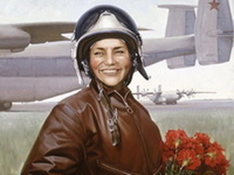 Легендарная летчица Марина Попович отмечает сегодня 80-летний юбилей