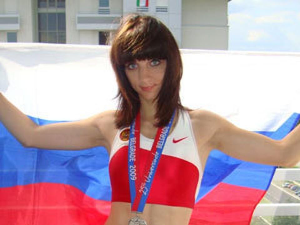 Екатерина Вуколова стала серебряным призером в женской эстафете четыре по 400 метров.