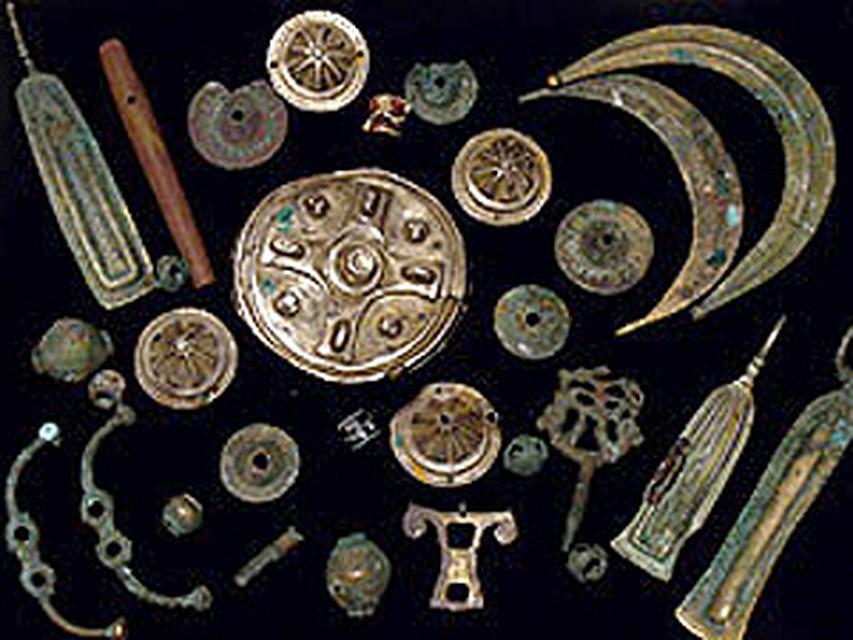 Под липецком нашли монеты золотой орды.